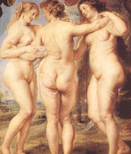 Ruben three nude women